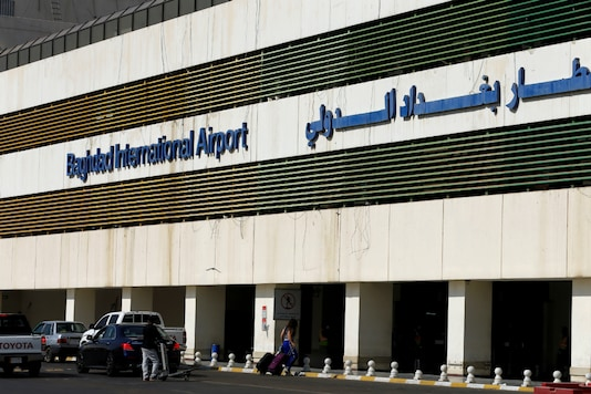 File photo of the Baghdad International Airport in Iraq. (Image Source: Reuters)
