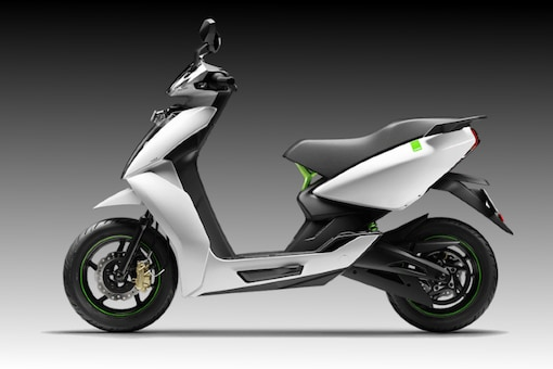 Ather 450. (Image source: Ather Energy)