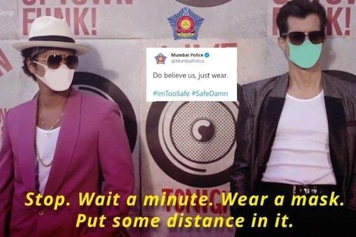 (Image credit: Twitter/ Mumbai Police)