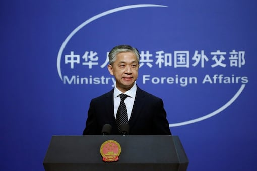 Chinese Foreign Ministry spokesman Wang Wenbin. (File photo/Reuters)