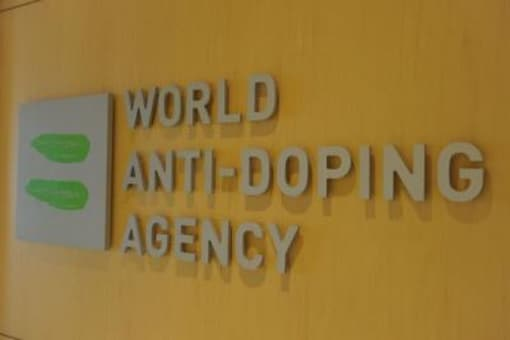 Logo of World Anti-Doping Agency. (Photo Credit: Getty Images)
