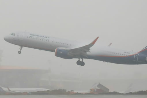 File photo of an Aeroflot Airbus A321-200 plane taking off at Sheremetyevo International Airport outside Moscow, Russia. (Photo Source: Reuters)