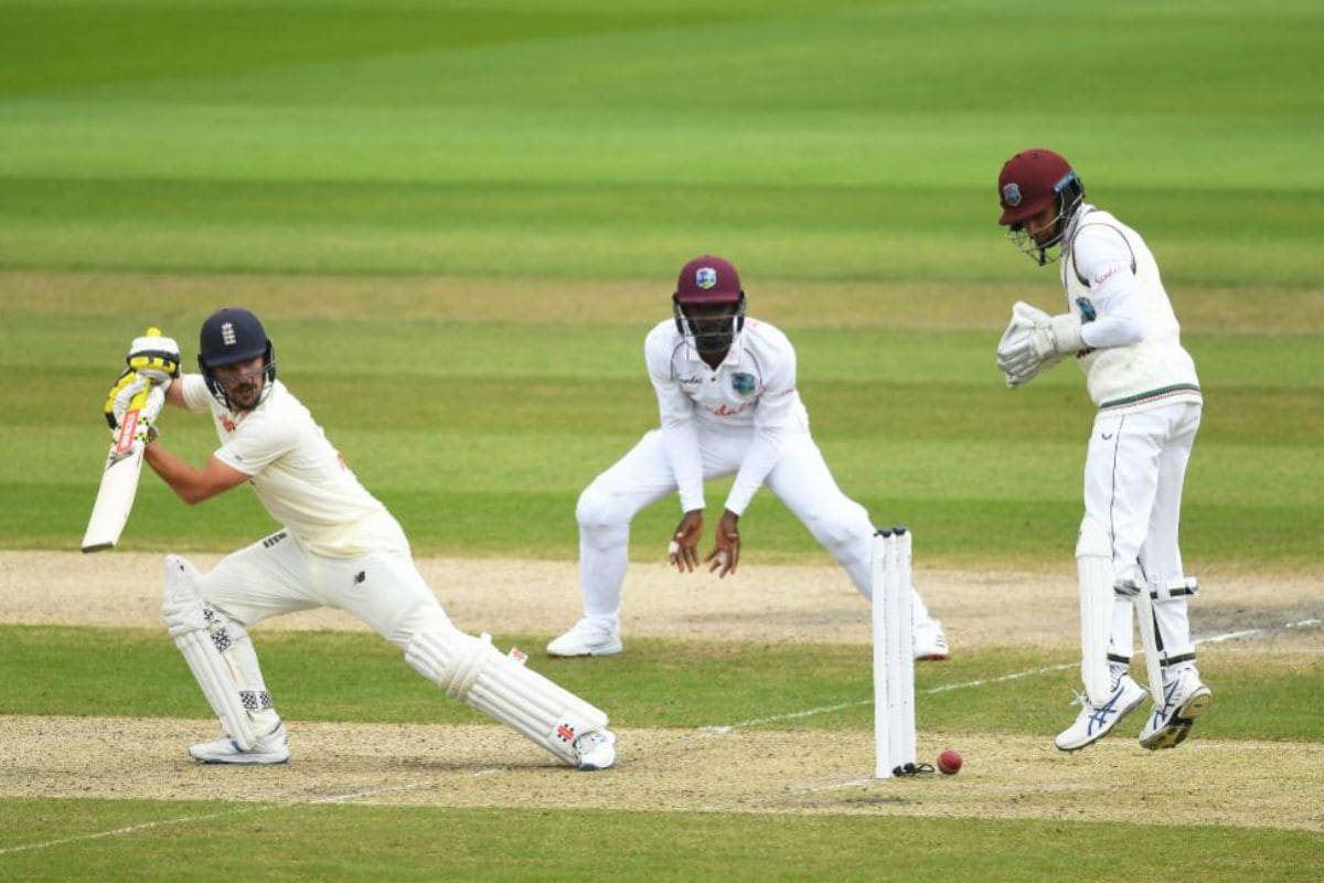 England vs West Indies: England 66/2 After Evenly Contested Morning Session in Manchester