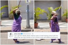 85-Year-Old Shantabai Pawar's Lathi Skills Impresses Internet, Sonu Sood Pitches in to Help