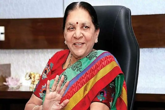 File photo of Madhya Pradesh Governor Anandiben Patel.