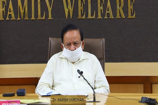 File photo of Union Health Minister Harsh Vardhan.