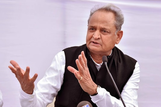 File photo of Rajasthan CM Ashok Gehlot (PTI File)