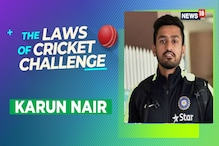 WATCH | The Laws of Cricket Challenge, Episode 8 With Karun Nair