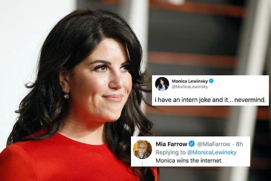 Monica Lewinsky just won the internet | Image credit: Reuters/Twitter