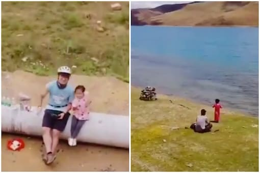 A man wanted to take his daughter to see the stars and the sunshine on her fourth birthday   Image credit: Twitter