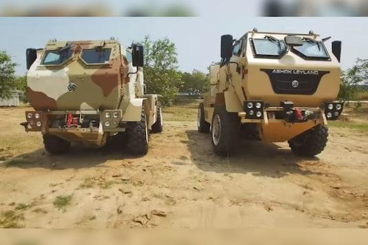 Ashok Leyland LSV 4x4. (Image source: YouTube/Ashok Leyland)