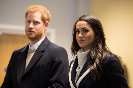 Prince Harry and Meghan Markle. (Reuters)