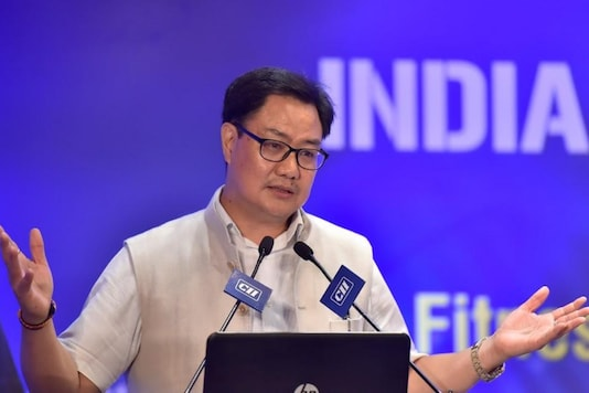 Sports Minister Kiren Rijiju (Photo Credit: PTI)