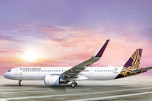 Vistara Airbus A321neo. (Photo: Vistara)
