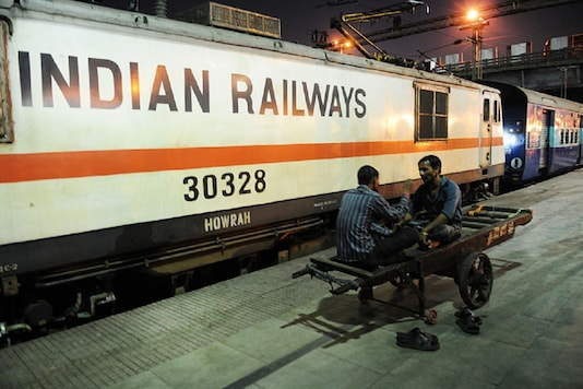 File photo of Indian Railways.