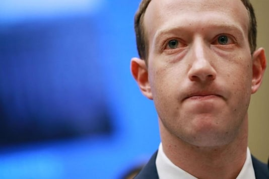 File photo of Mark Zuckerberg. (Reuters)