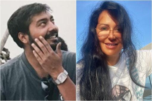 Anurag Kashyap (L), Ayesha Shroff