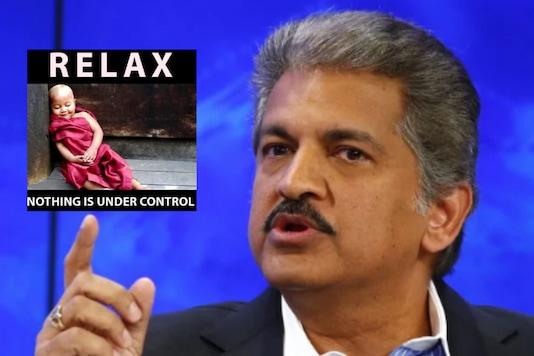 File image of Anand Mahindra / CNBC TV 18.