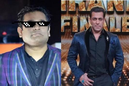 File images of AR Rahman / Salman Khan | News18.