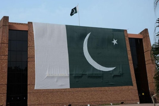 File photo of Pakistan flag