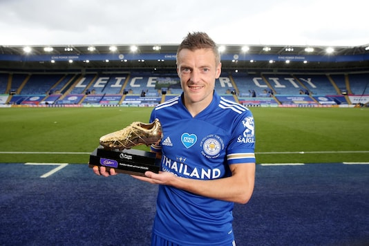 Jamie Vardy (Photo Credit: @LCFC)
