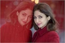 Saumya Tandon Shoots for Bhabiji Ghar Par Hain, See Pics