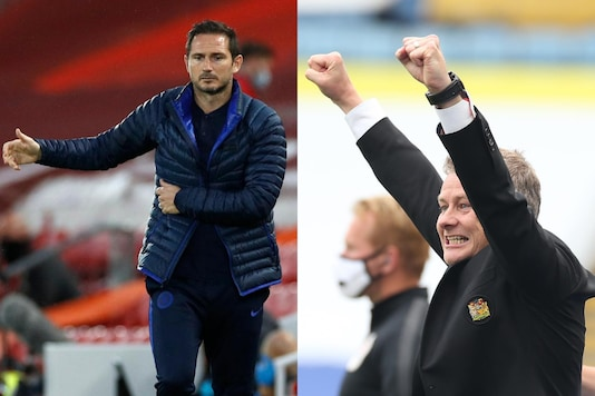 Frank Lampard and Ole Gunnar Solskjaer (Photo Credit: Twitter)