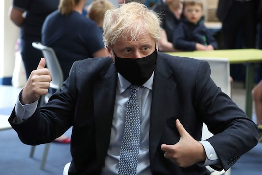 Britain's Prime Minister Boris Johnson (Andrew Milligan/PA via AP)