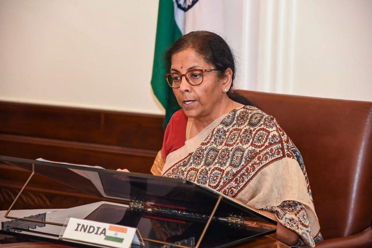 India's GDP Growth May Be Negative or Near Zero in Current Fiscal: Nirmala Sitharaman