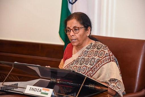 File photo of finance minister Nirmala Sitharaman. (PTI)