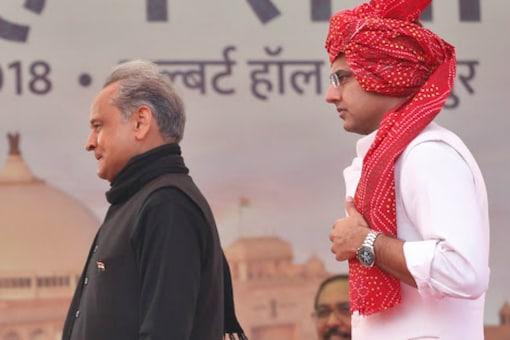 CM Ashok Gehlot and Sachin Pilot (PTI File)