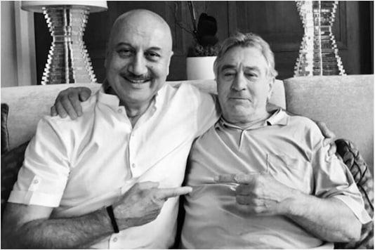 Anupam Kher and Robert De Niro