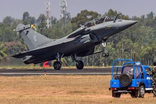 The first batch of five French Rafale fighter jets will land in India on July 29. (Photo: PTI)