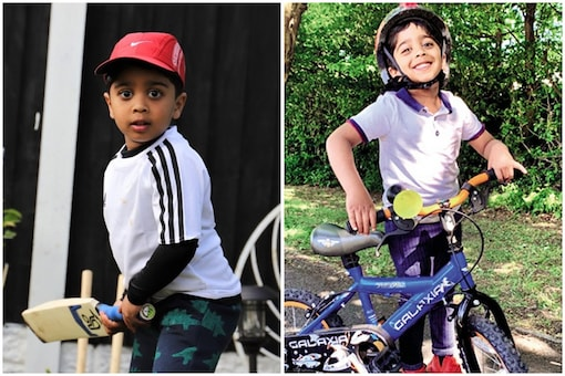 Aneeshwar Kunchala started a cycling campaign in which he was joined by his friends to help fight COVID-19 in India and UK | Image credit: Andrew Fleming/Twitter