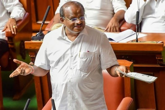 File photo of former Karnataka CM HD Kumaraswamy.
