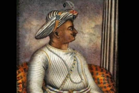 A painting of Tipu Sultan. (CNN-NEWS18)