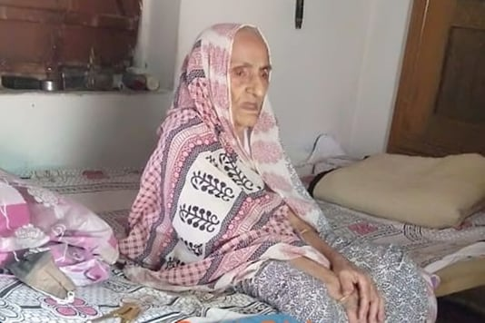 Despite her old age, Girja Devi still undertakes domestic chores, her family said. (Credit:news18)