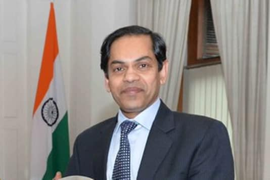 Indian High Commissioner Sunjay Sudhir (Image: Twitter)
