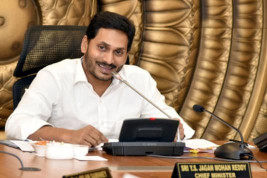 A file photo of CM Jagan Mohan Reddy.