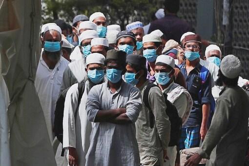 File photo of Tablighi Jamaat members. (Representational Image: PTI)
