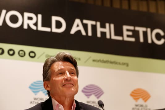 World Athletics president Sebastian Coe. (Photo Credit: Reuters)