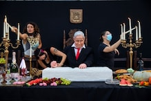 'Last Supper of Israeli Democracy': Artist Takes Aim at Netanyahu with Life-size Statue