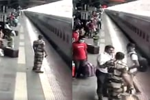 Two RPF Officers Lauded for Saving Life of Man Who Slipped on Rail Tracks While Jumping Off Moving Train