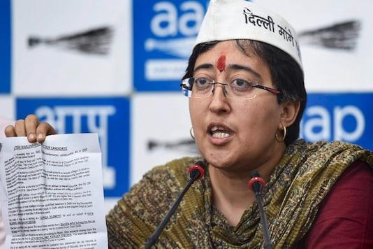 File photo of AAP leader Atishi.