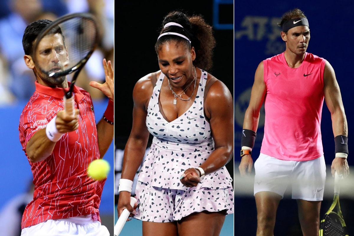 Novak Djokovic Rafa Nadal And Serena Williams Enter Names In Western Southern Open