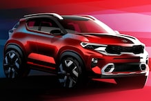 Upcoming Kia Sonet Compact SUV Exterior and Interior Unveiled in Official Design Sketches