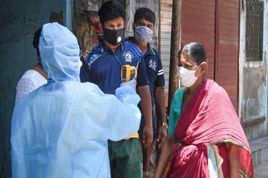People being tested in Chennai (PTI)