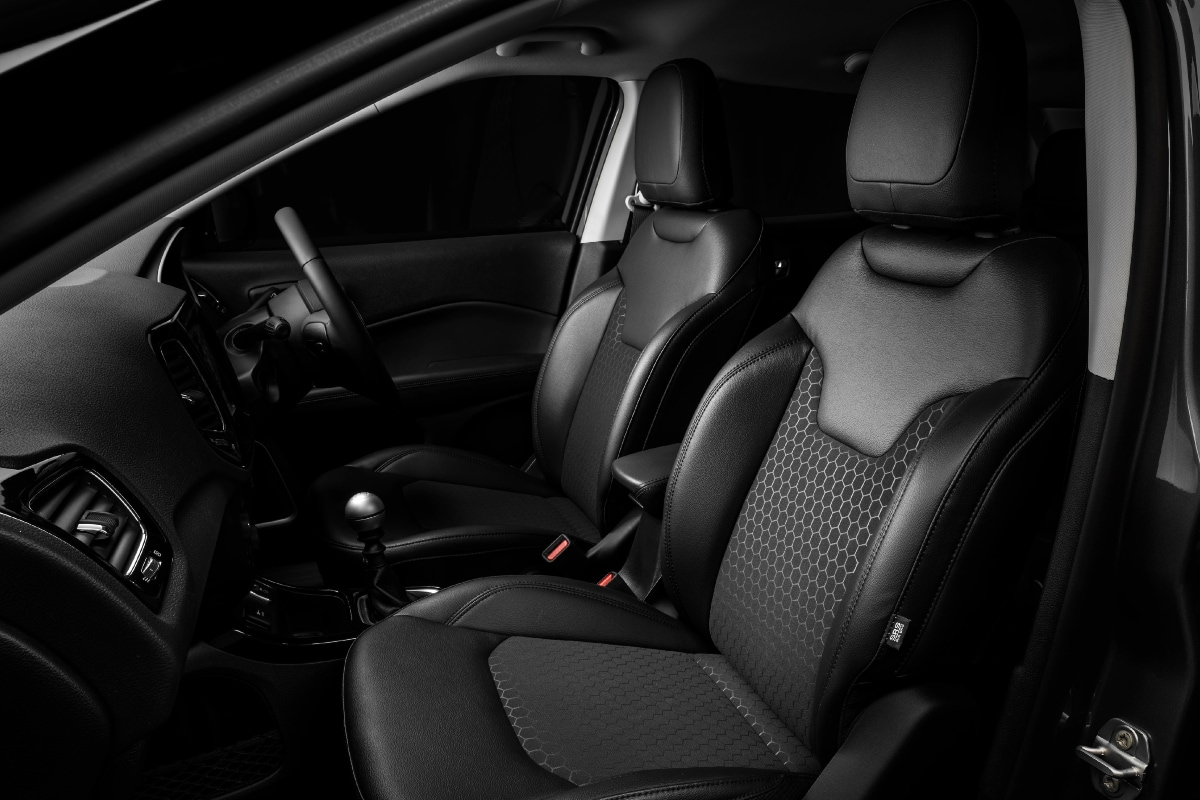 Jeep Compass Night Eagle Edition Interiors. (Image source: Jeep)