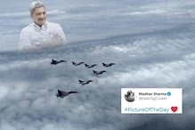 Twitter User Imagines Manohar Parrikar in the Heavens as Rafale Jets Come Home