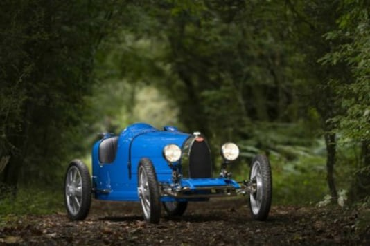 File photo of the Bugatti Baby 2 battery-powered car. (Image Source: AFP Relaxnews)